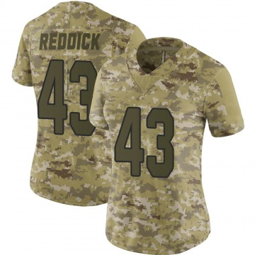 Women's Arizona Cardinals Haason Reddick Red Limited Camo 2018 Salute to Service Jersey By Nike
