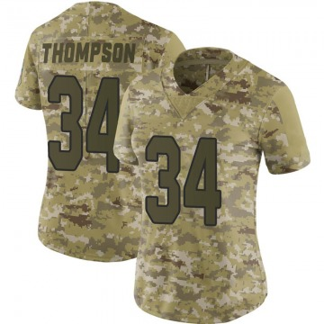 Women's Arizona Cardinals Jalen Thompson Camo Limited 2018 Salute to Service Jersey By Nike