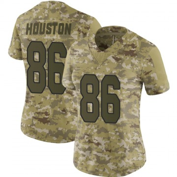 Women's Arizona Cardinals Parker Houston Camo Limited 2018 Salute to Service Jersey By Nike