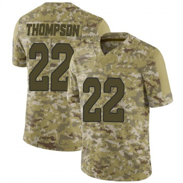 Youth Arizona Cardinals Deionte Thompson Camo Limited 2018 Salute to Service Jersey By Nike