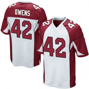 Youth Arizona Cardinals Jonathan Owens White Game Jersey By Nike