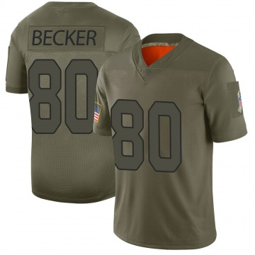 Youth Arizona Cardinals Ryan Becker Camo Limited 2019 Salute to Service Jersey By Nike